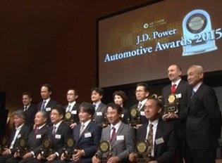 J.D. Power Japan Automotive Awards 2015 ハイライト